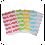 self adhesive index tabs